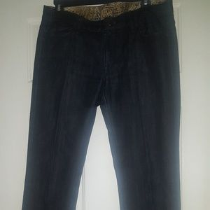 Rich and Skinny Dark Blue bootcut jeans